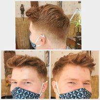 Ginger fade by scissor's