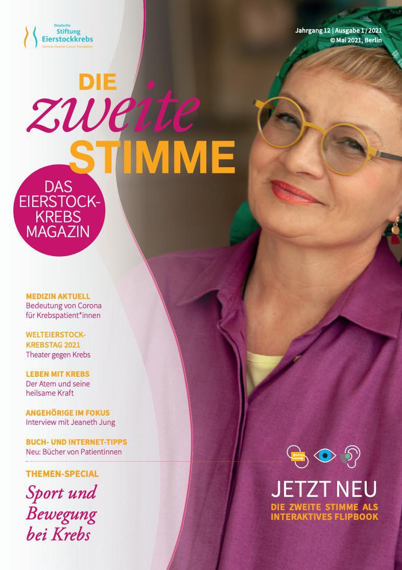 Die zweite Stimme Patientinnenzeitschrift - Ausgabe 1/2021
