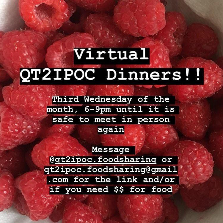 QT2IPOC Dinners