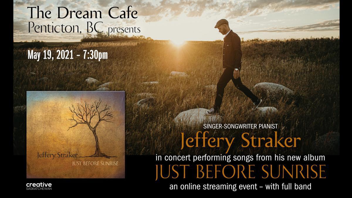 Singer-Songwriter Pianist Jeffery Straker in Concert