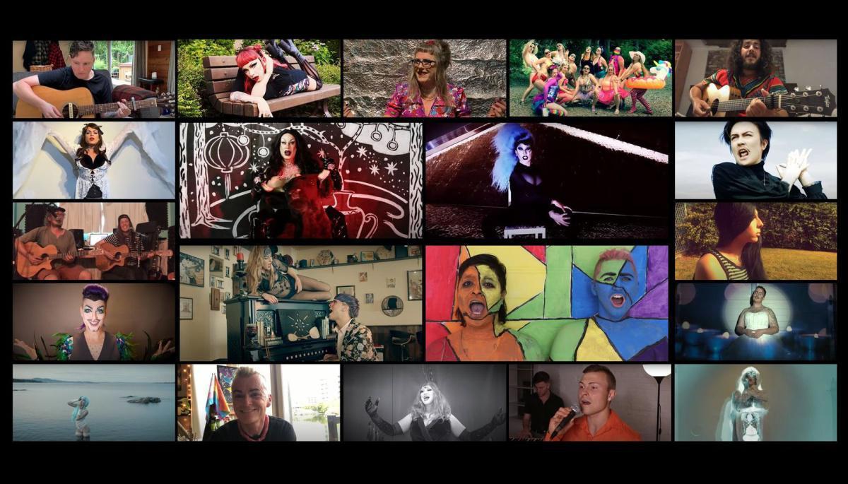 Victoria Pride Week Festival Extravaganza Show 2021