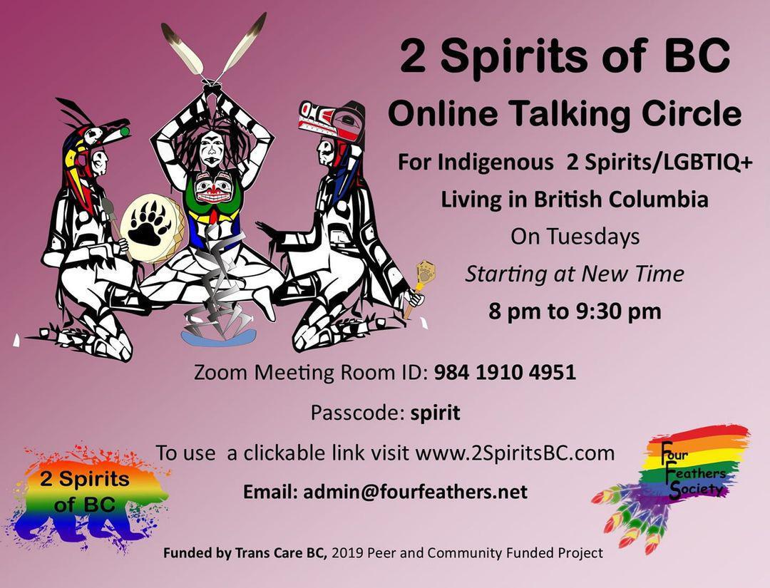 2 Spirits of BC Talking Circle