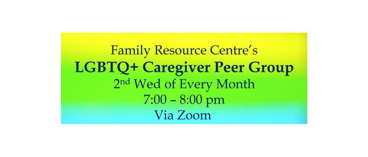 LGBTQ+ Caregiver Group - Vernon