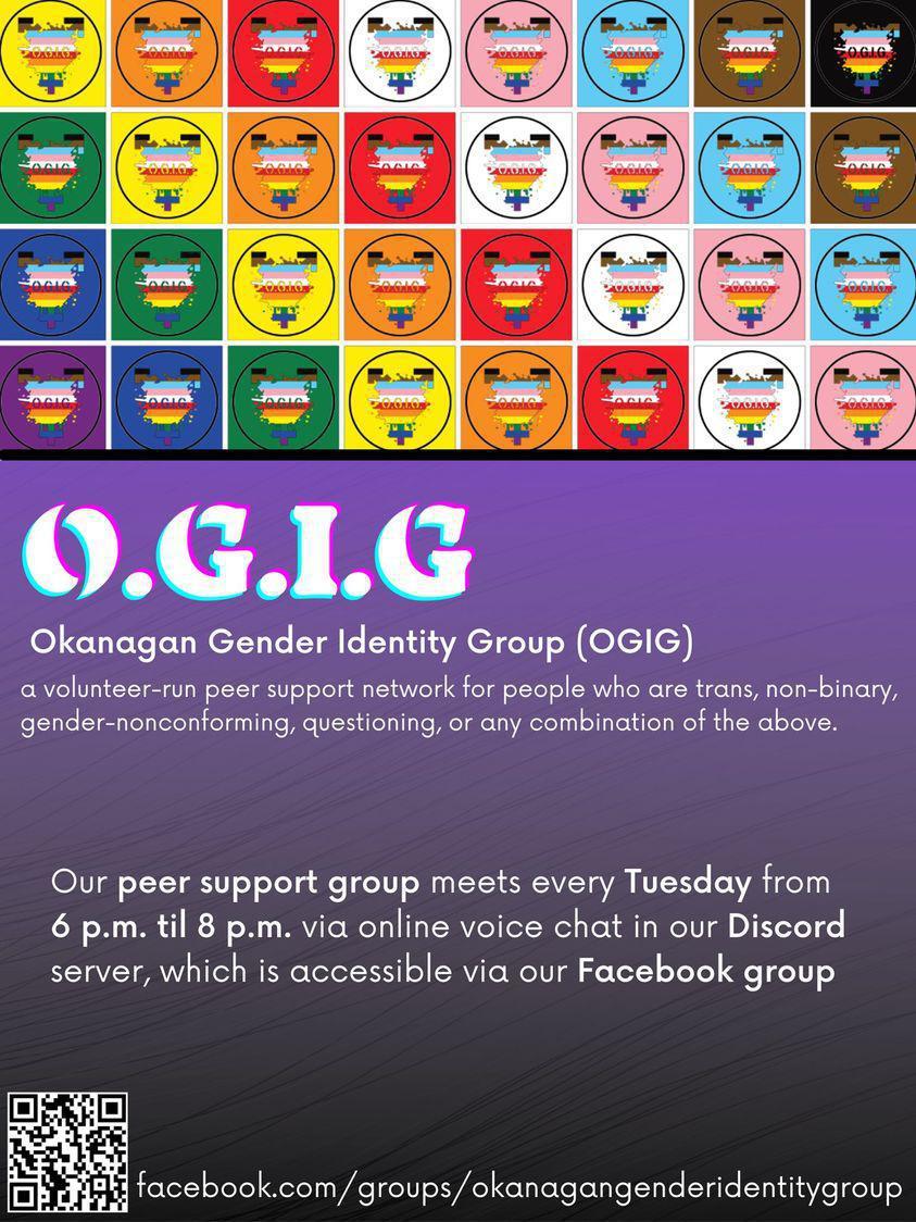 Okanagan Gender Identity Group Meeting