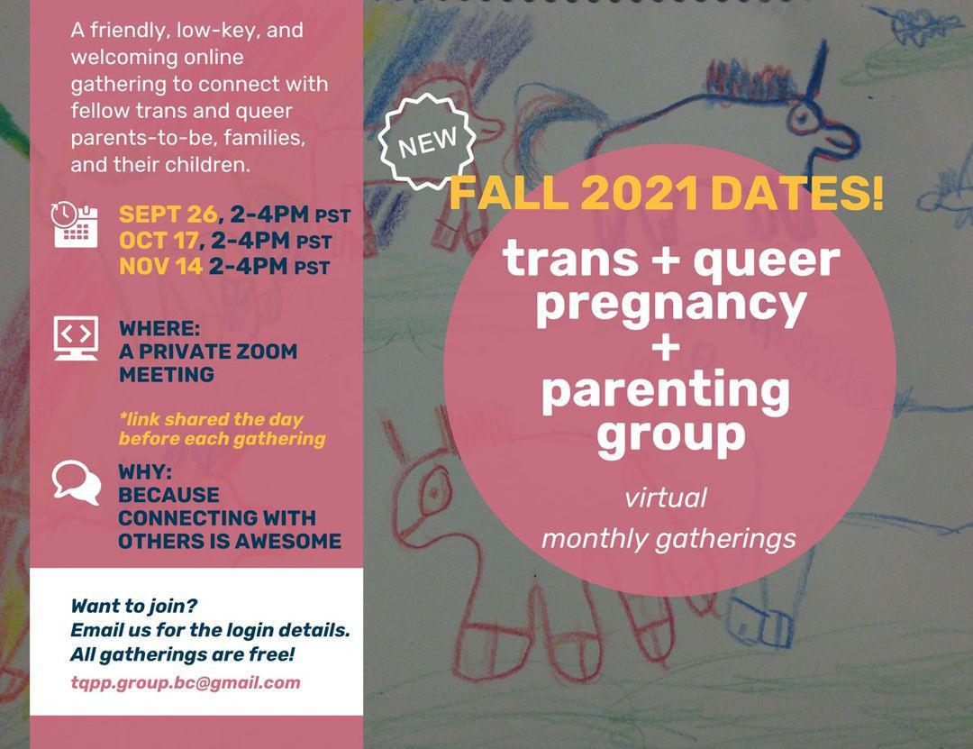 Trans and Queer Pregnancy and Parenting Group
