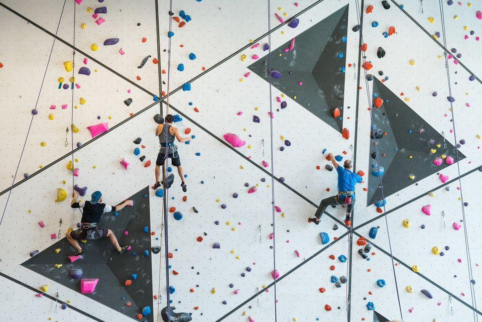 Queer Climbing Lesson at Crag X Climbing Gym