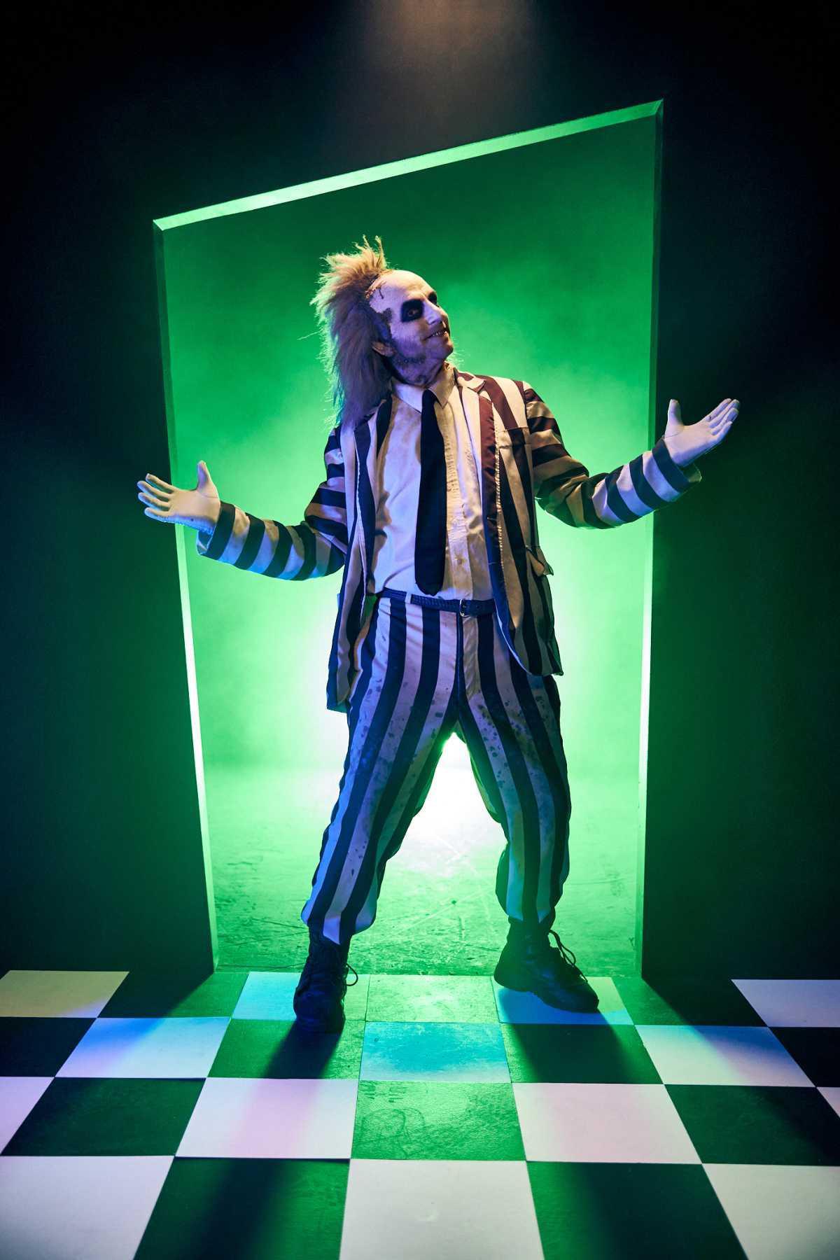 Beetlejuice ist bei den Halloween Horror Nights 30 dabei