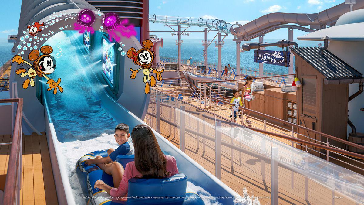 Die neue Disney Wish detailiert vorgestellt