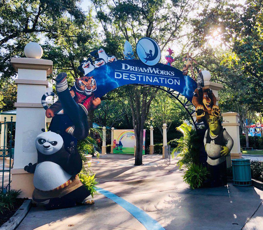 DreamWorks Destination! - Steht kurz vor der Eröffnung
