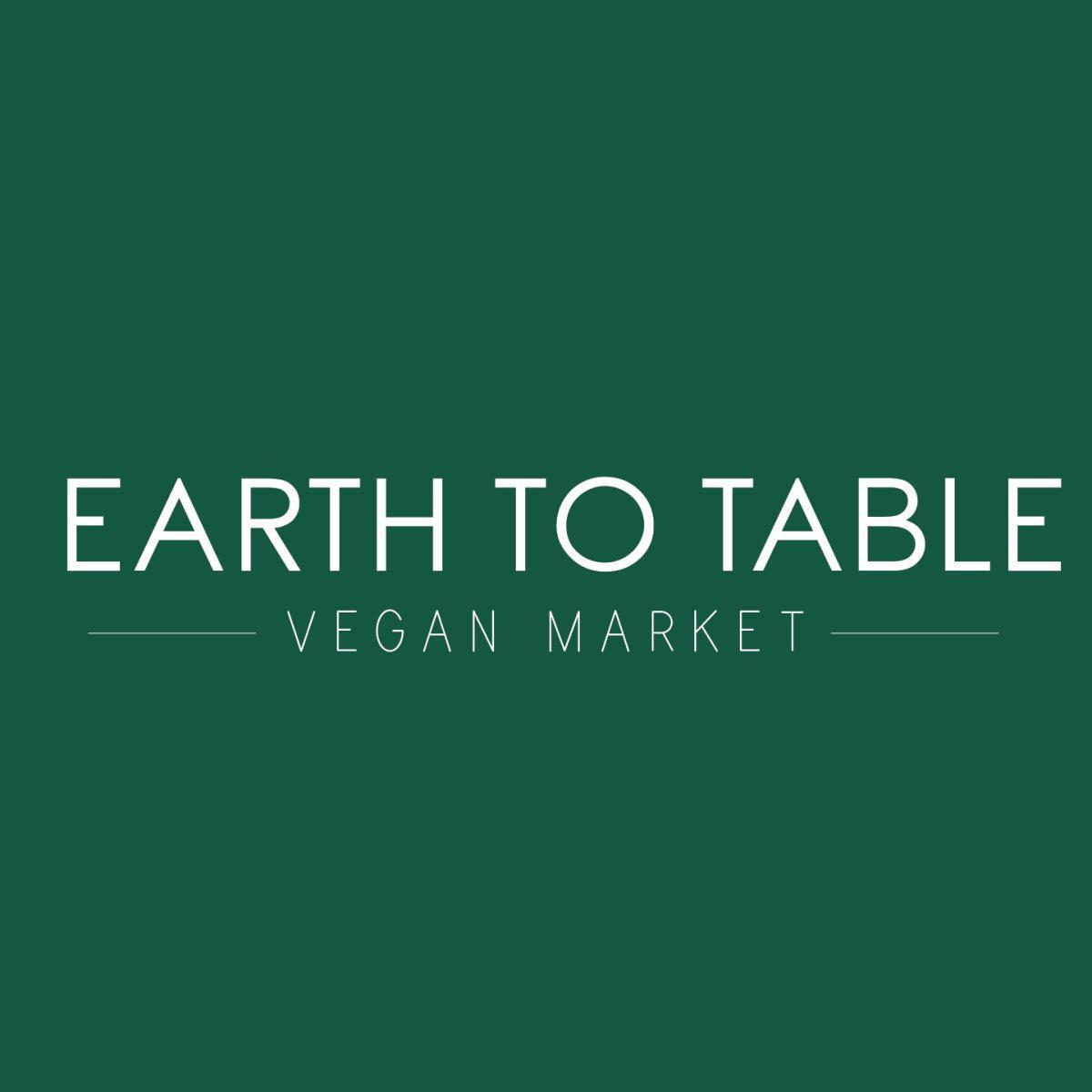 Earth to Table Vegan Market