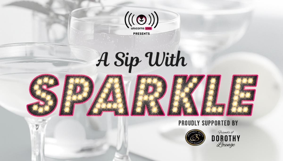 A Sip with Sparkle