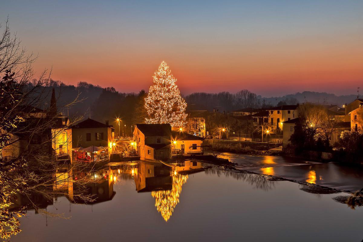 Natale a Valeggio sul Mincio Borghetto. Un Borgo bello come un Presepe.