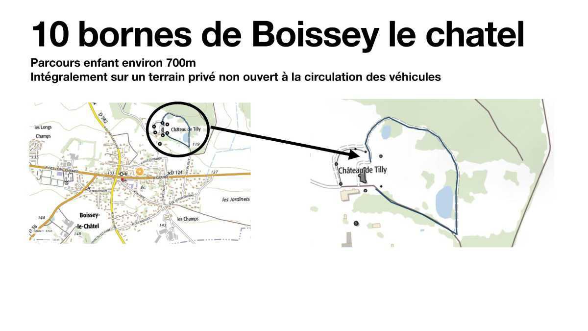 les 10 Bornes de Boissey