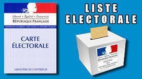 Inscription liste éléctorale
