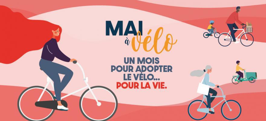 """Inscription à l 'Opération """"Mai à Vélo"""" le Dimanche 23 mai à 10h30"""