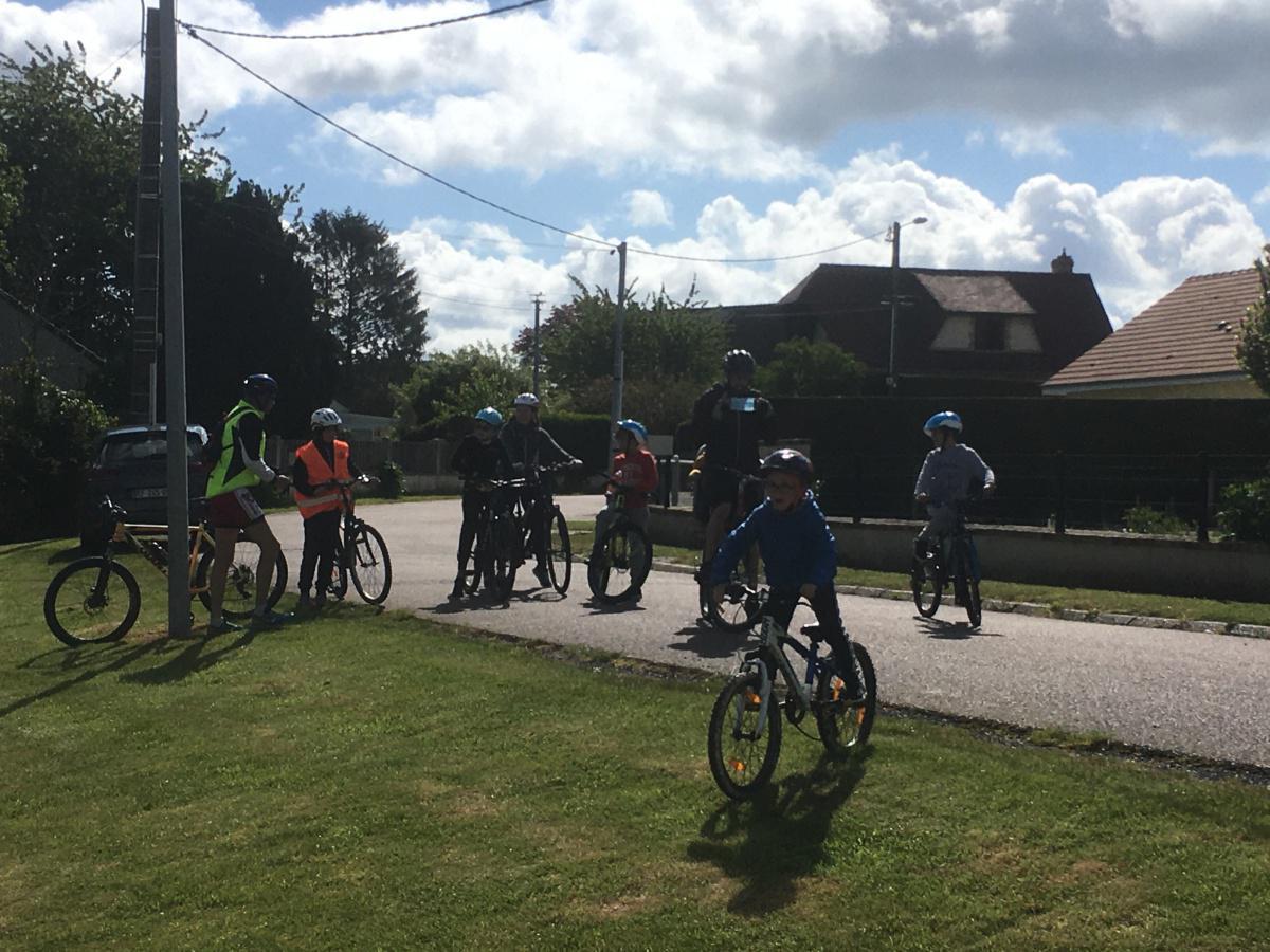 """Participation à l'Opération """" Mai à Vélo"""" du dimanche 23 mai"""