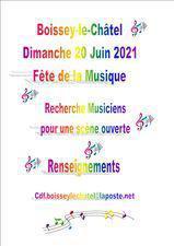 Recherches de musiciens pour la fête de la musique !