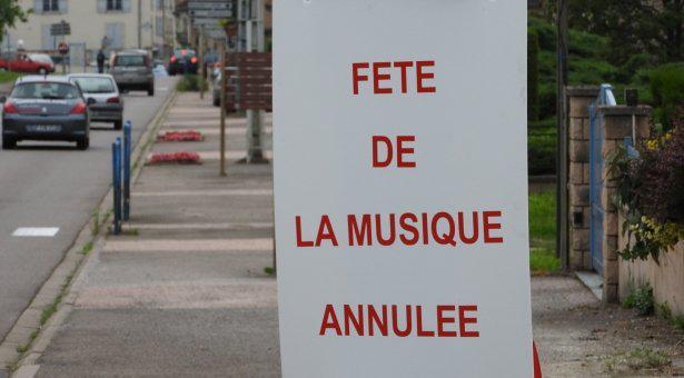 Annulation Fête de la Musique