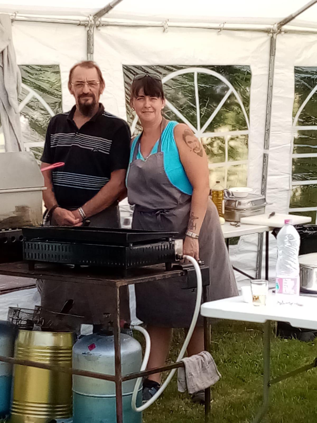Le Barbecue du club de l'amitié sous le soleil normand!