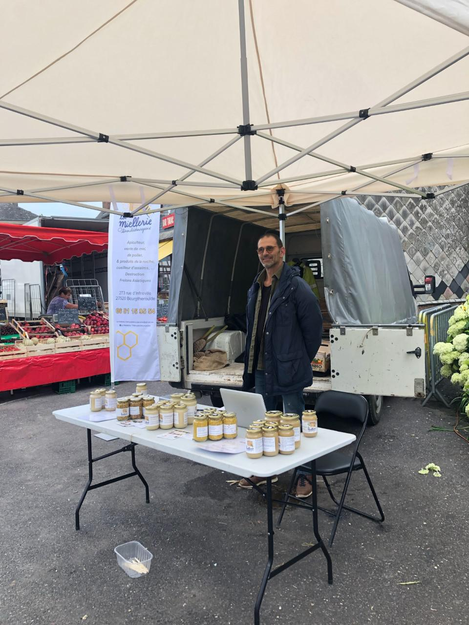 Vendeur de miel