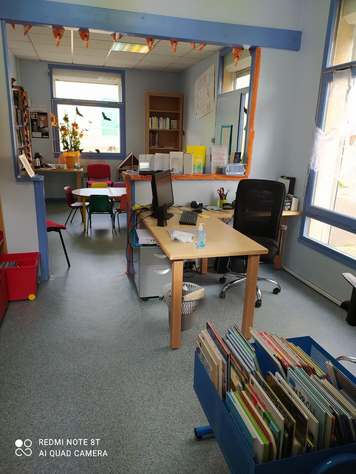 Réaménagement de la bibliothèque municipale!!