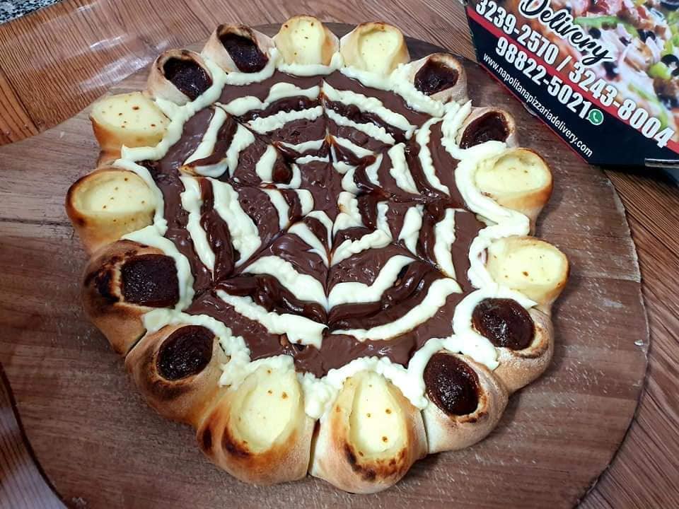 Chocolate com Borda Vulcão