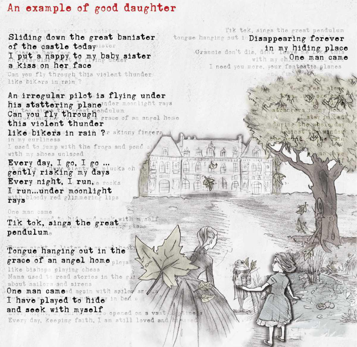 AN EXAMPLE OF GOOD DAUGHTER by Mélanie Destroy (FR)