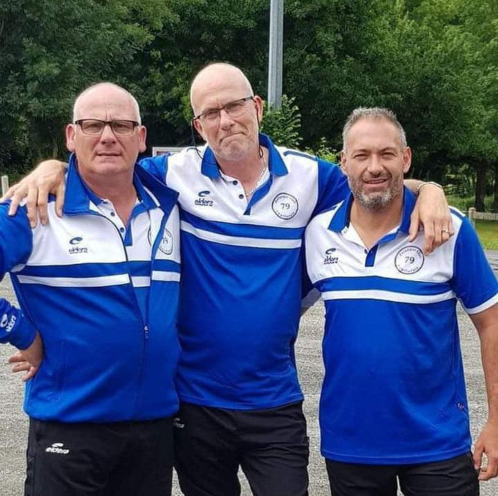 Champions des Deux-Sèvres triplette à pétanque 2021