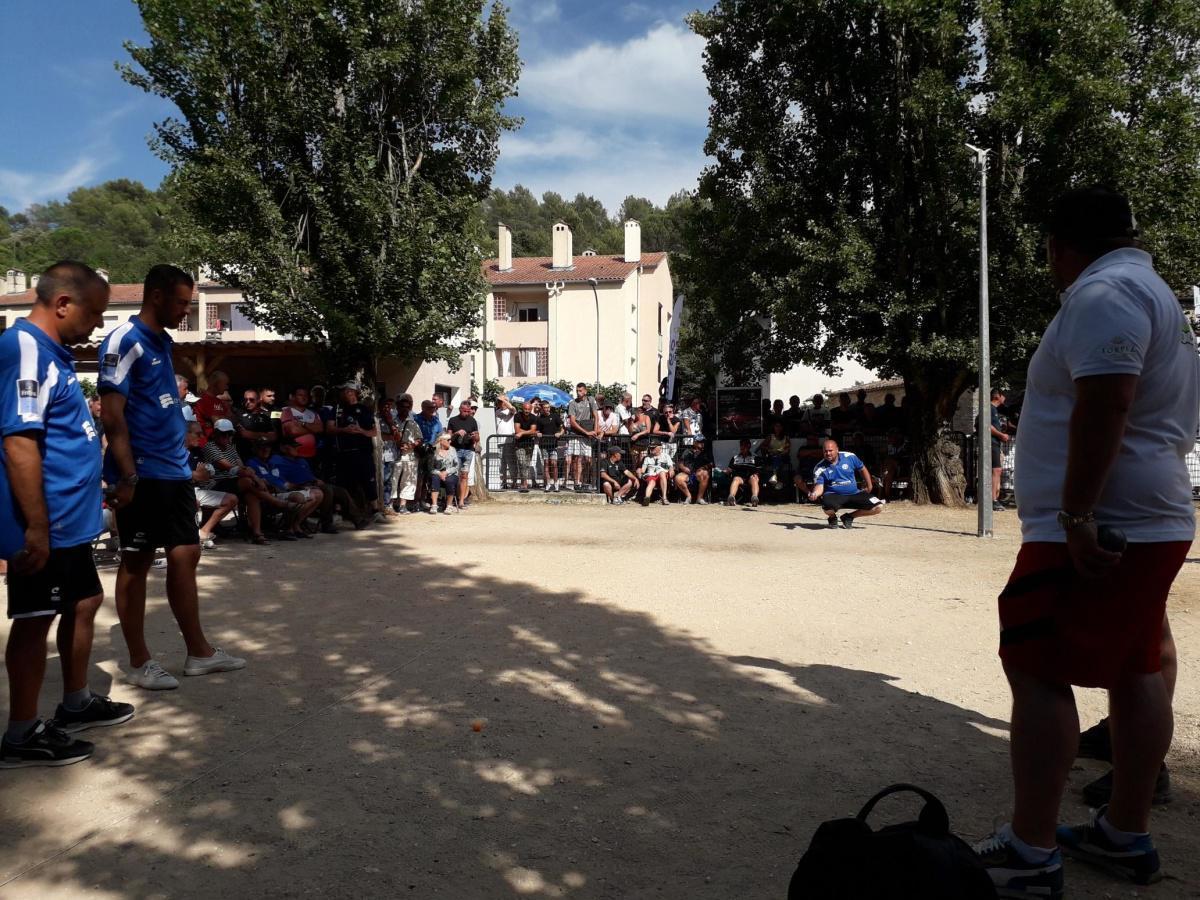 Championnat du Var de pétanque 2021 : Rocher contre Michel