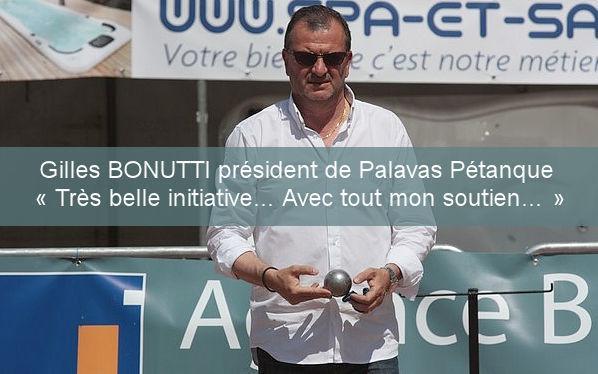 Gilles BONUTTI organisateur d'évènement vient de soutenir notre projet !