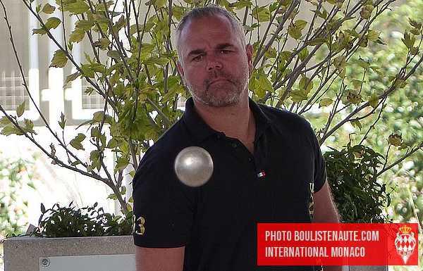 David MARMI belle prestation en huitième de l'International à pétanque de Monaco