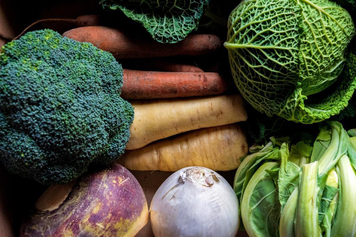 Les légumes de saison au mois de Décembre