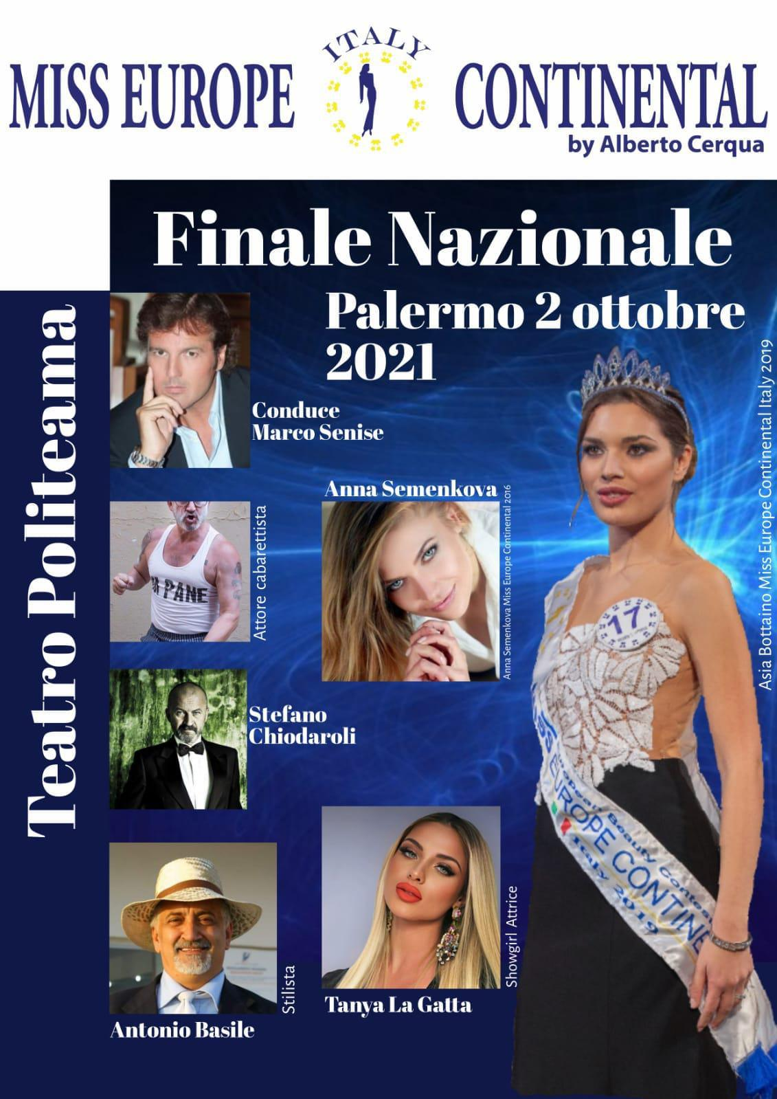 Miss Europe - Palermo