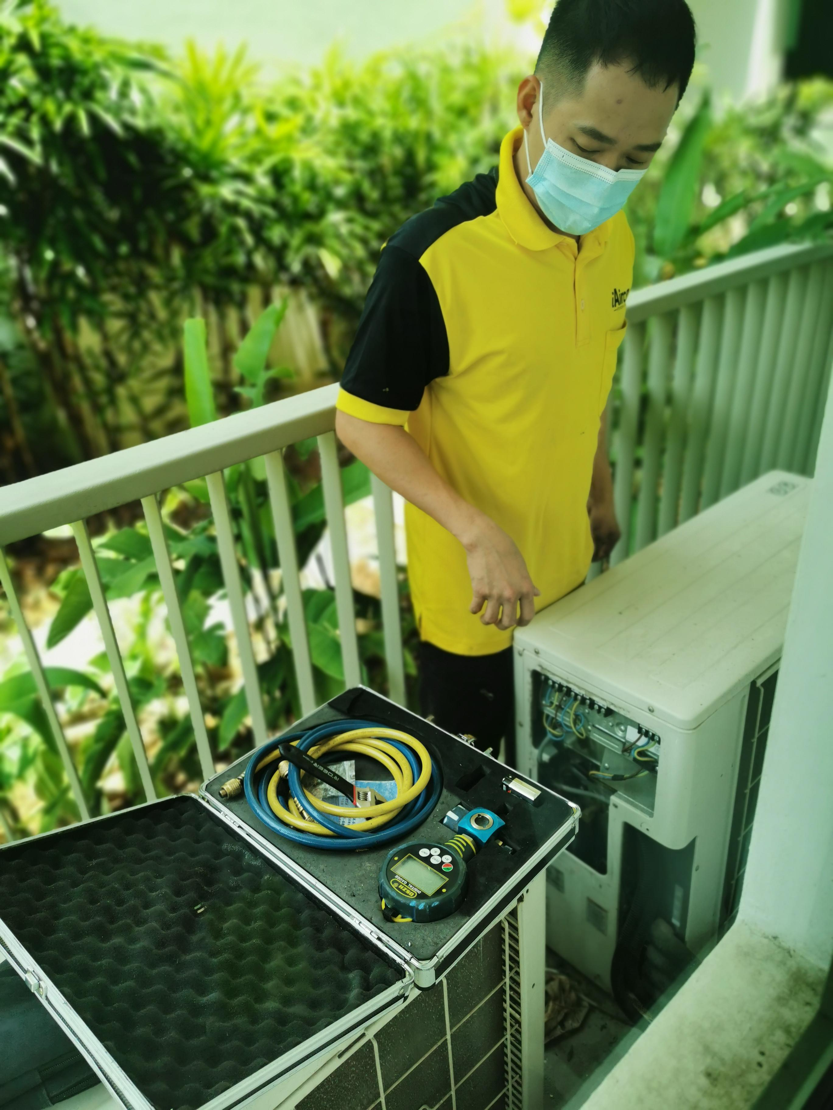 Outdoor Condensing Unit Checking