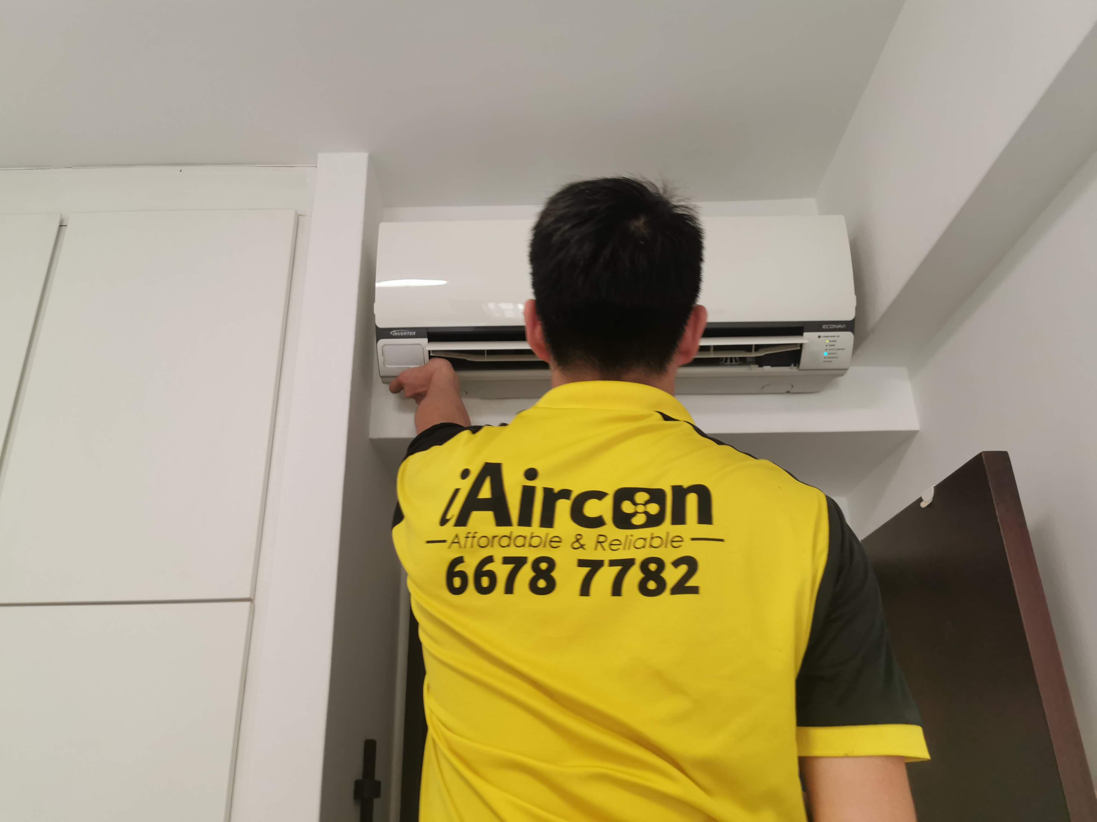 Aircon Service Done & Final Touches