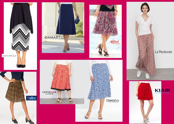 catalogue mode femme jupe