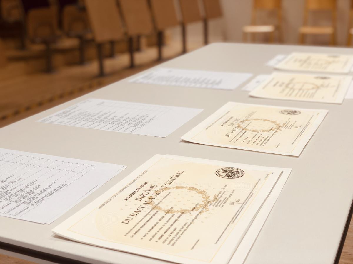 Remise des diplômes du baccalauréat