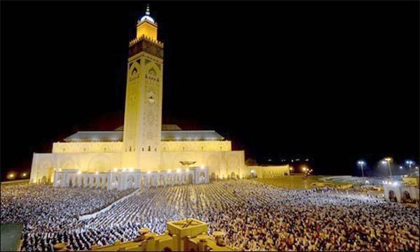 مسجد الحسن الثاني بالدار البيضاء .. ترتيبات استثنائية وأجواء روحانية رمضانية