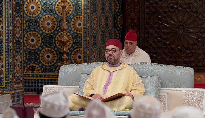 أمير المؤمنين يترأس الدرس الرابع من سلسلة الدروس الحسنية الرمضانية