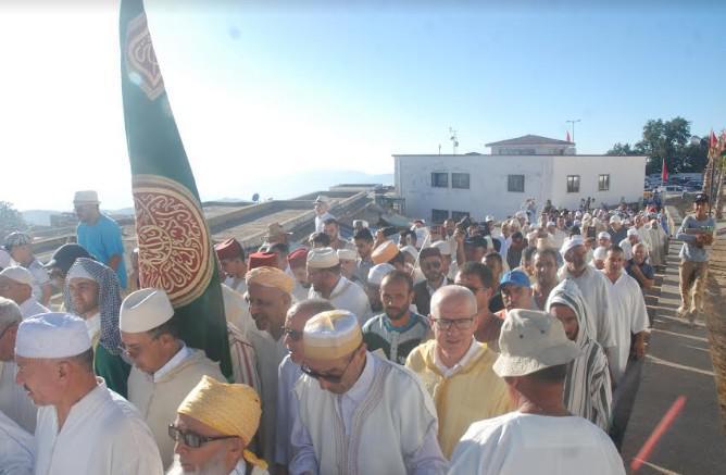 تقرير حول الاحتفال السنوي بالولي الصالح مولاي عبد السلام بن مشيش الذي أحيته الطريقة يوم السبت 24 غشت 2019