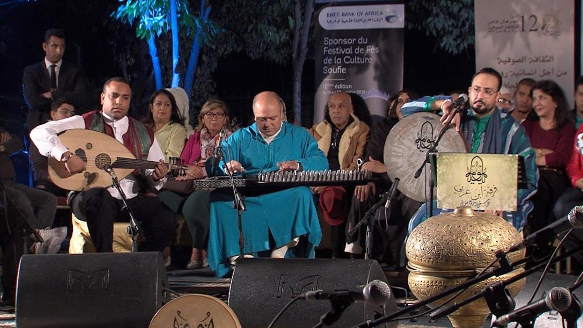 فرقة ابن عربي تسافر بجمهور فاس في رحلة موسيقية روحية