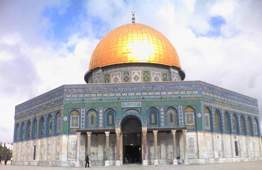 الربعة المغربية المحفوظة في رحاب المسجد الأقصى المبارك