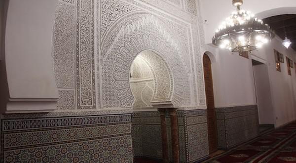 جامع الأندلس بفاس... منارة روحية تبرز أصالة الفن المعماري المغربي