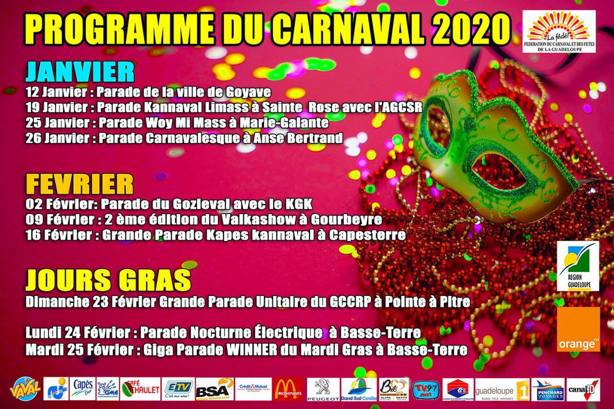 Parade carnavalesque à Anse Bertrand