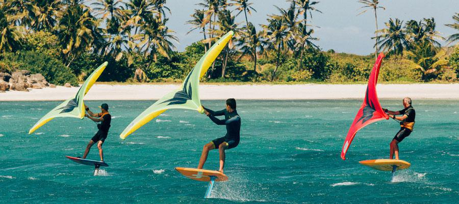 Kite Surf et Wing Foil AKC Guadeloupe