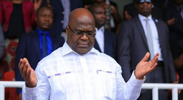 Le Président de la R.D.Congo consacre solennellement son pays à Dieu.