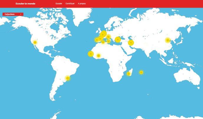 RFI : une sonothèque mondiale et participative pour voyager
