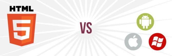 Application native vs HTML5