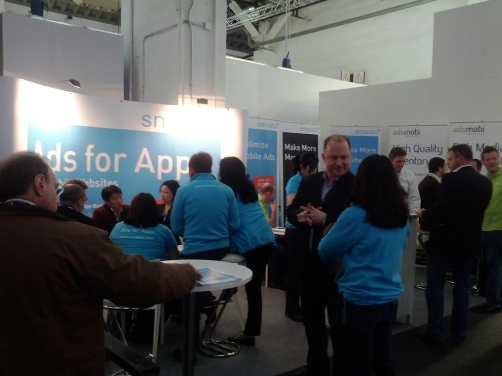 Stand Smaato, dans le Hall 7 (AppPlanet)