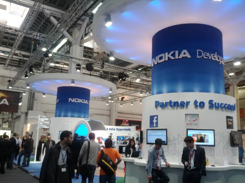 Stand Nokia, dans le Hall 7 (AppPlanet)